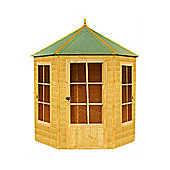 Finewood Gazebo Wooden Summerhouse, 6x7ft