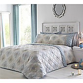 Dreams n Drapes Indra Duck Egg Bedspread