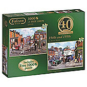 40th Anniversary - 40s and 50s - 2 x 1000pc Puzzle