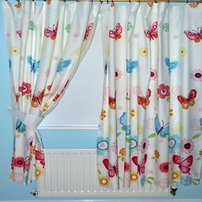 Butterflies Curtains 54s