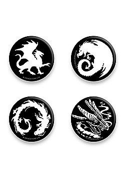 Fantastic Dragons Badge Pack - Multi
