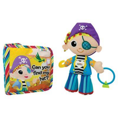 Lamaze Pirate Plush & Book Gift Set