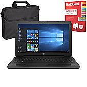 "HP 250 G5 - X0Q79ES#ABU - 15.6"" Laptop With BullGuard Internet Security & Case"