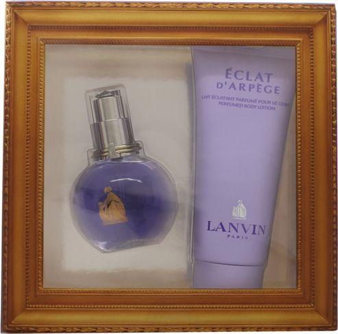 Lanvin Eclat Arpege Gift Set 50ml EDP + 100ml Body Lotion For Women