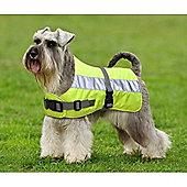 Flectalon Hi Viz Dog Coat 45cm