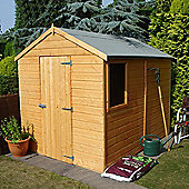 8X6 Shed In Shiplap With Apex Roof By Finewood