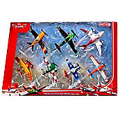 Disney PLANES Wings Around The Globe Racing 7-Pack Set 2 (BJT25)
