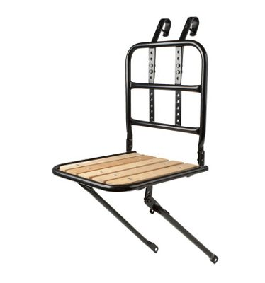 Coyote Front Steel Carrier With Wooden Platform
