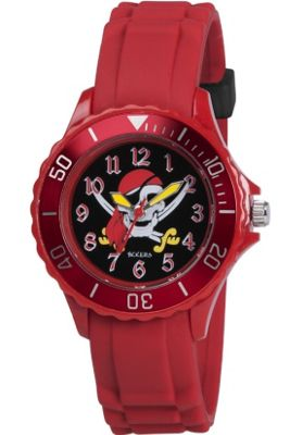 Tikkers Red Pirate Watch