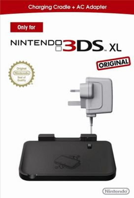 Nintendo 3DSXL Charge Cradle & AC Adaptor