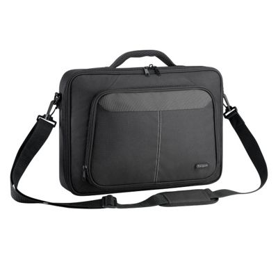 Targus Intellect+ Canvas Sleeves Clamshell Style (Black) for 15.6 inch Laptops