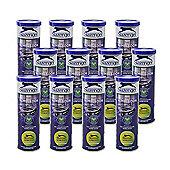 4 Dozen Slazenger Wimbledon Ultra Vis Hydroguard Tennis Balls
