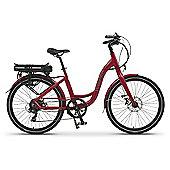 Wisper 705SE Step Through Electric Bike 16Ah Red