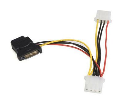 StarTech SATA to LP4 Power Cable Adaptor with 2 Additional LP4 - F/M