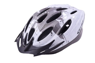 Ammaco MTB Road Bike Mens/Boys Helmet 54-59cm Grey/White