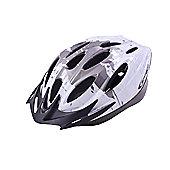 Ammaco MTB Road Bike Mens/Boys Helmet 54-59cm Grey/White