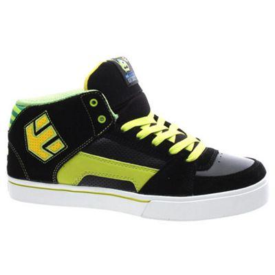 Etnies Disney Monsters RVM Kids Black/Green/White Shoe