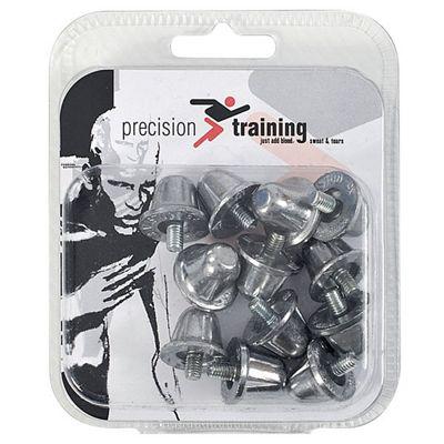 Precision Training 12 x Rugby Union Aluminium Screw In Studs 21mm