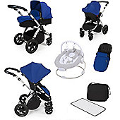ickle bubba Stomp V2 All in One Travel System/Bouncer Combo - Silver