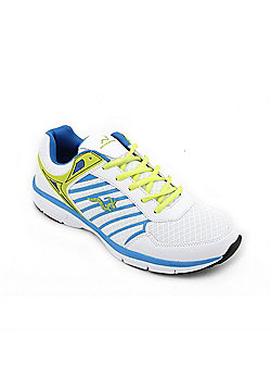 Woodworm Sports Mfs Mens Running Shoes / Trainers White/Blue Size 10