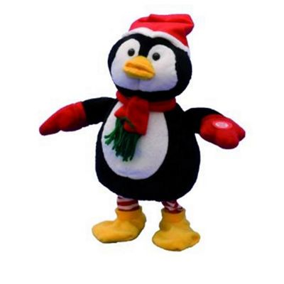 Festive Animated Dancing Xmas Pengui