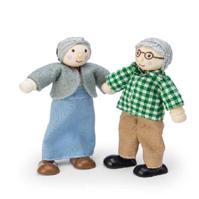 Le Toy Van Dolls House Grandparent Set