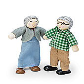 Le Toy Van Dolls House Grandparent Set