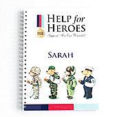Help for Heroes Personalised Bear Notepad