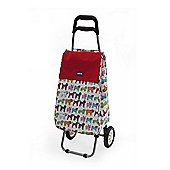 Sabichi 2 Wheel 40L Shopping Trolley, Pug