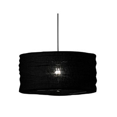 50cm Black Jute Easy Fit Pendant