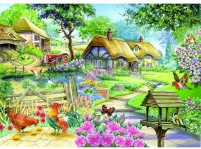 Country Living - Extra Large Puzzle