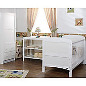 Obaby Grace 3 Piece Furniture Set - White