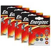 20 x Energizer LR44 1.5V Alkaline Battery A76 AG13 PX76A G13A Batteries