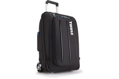 Thule Crossover 38 Litre Rolling Carry-On Black Bag-s
