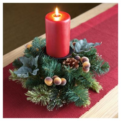 Tesco Candle Ring with Berries