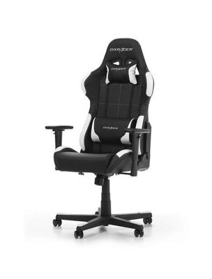 DXRacer Formula Series Gaming Chair - Black / White - F99-NW