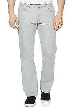 F&F Loose Fit Jeans - Bleach grey