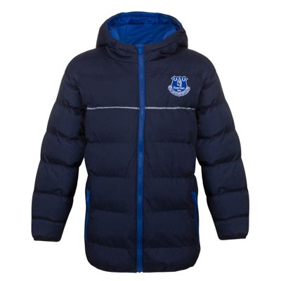 Everton FC Boys Quilted Jacket 8-9 Years