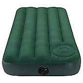 Intex Junior Twin Downy Airbed with Built-in Foot Pump