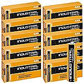 100 x Duracell AAA Industrial Alkaline Batteries