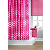 Printed Shower Curtain - Pink