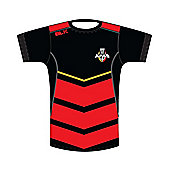 BLK Sport Southern Kings Super Rugby Gym Tee 2016 - Black