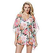 F&F Tropical Floral Print Kaftan - Multi