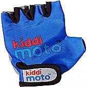 Kiddimoto Gloves Blue (Medium)