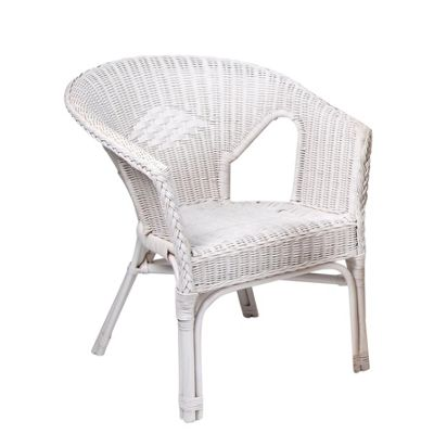 Desser Loom Occasional Chair - White