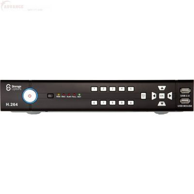 Storage Options CCTV Digital Video Recorder 8 Channel 1TB