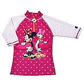 Disney Minnie Mouse & Daisy Duck UV Shirt 5 to 6 Years