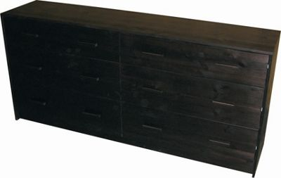 Oestergaard Connie Chest of Drawers with 3+3 Drawers - Wenge