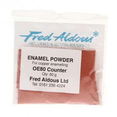 OE80 Counter Enamel 60g Lead free