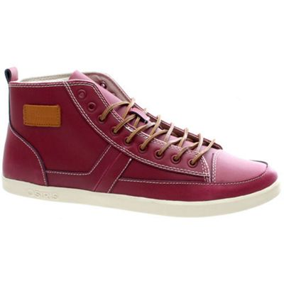 Osiris Currency Burgundy/Cream/Tan Shoe